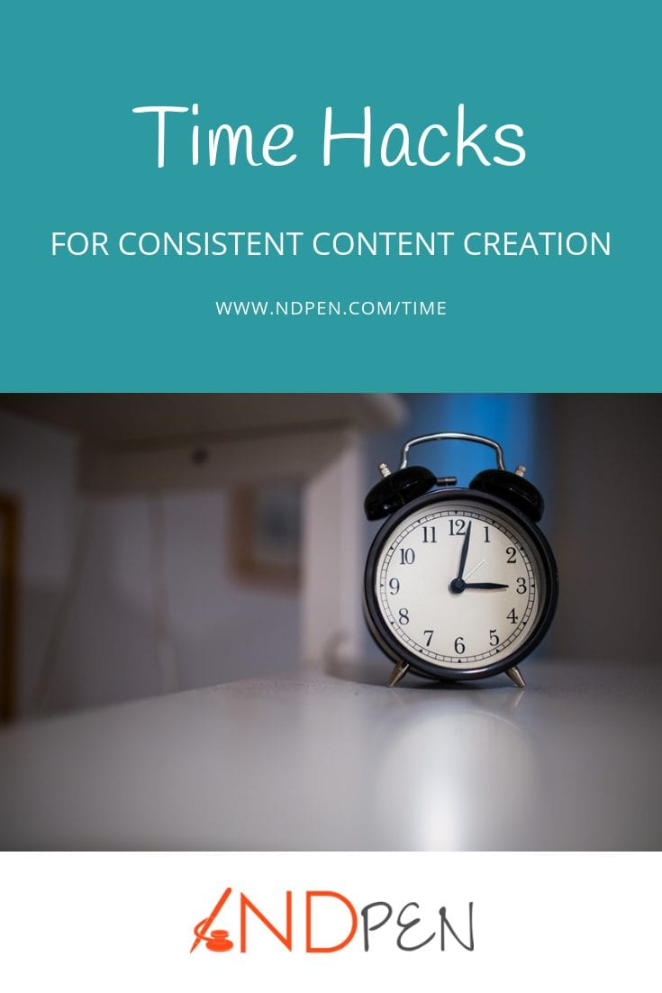 Time Hacks for Consistent Content Creation