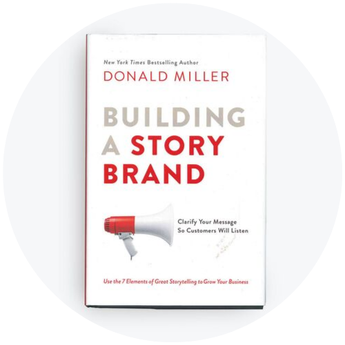 link to Building a StoryBrand book on Amazon